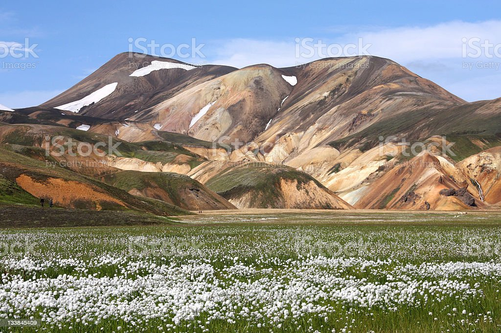 Iceland - Landmannalaugar stock photo