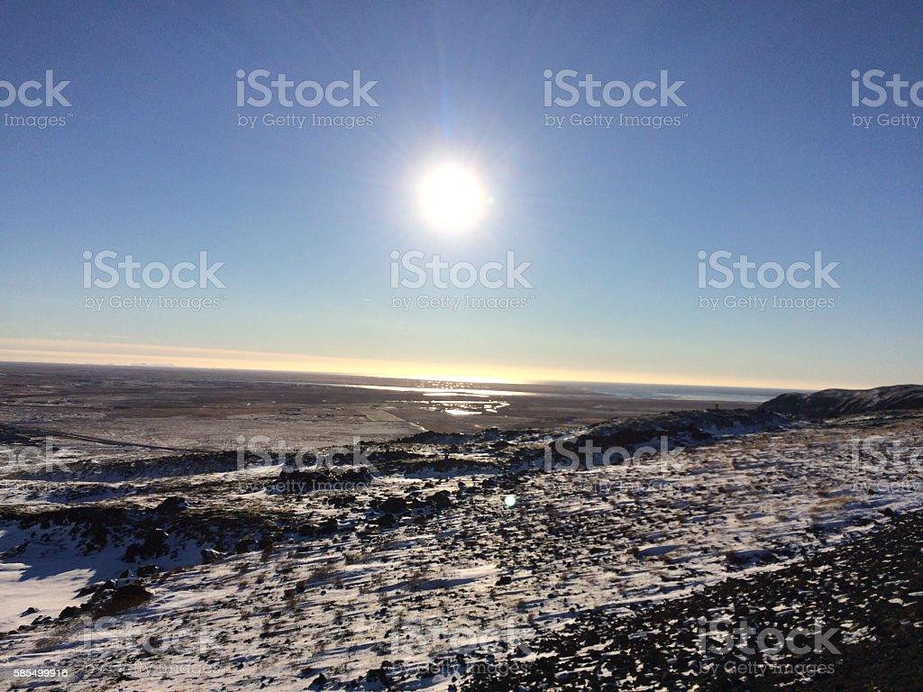 Iceland landscape stock photo