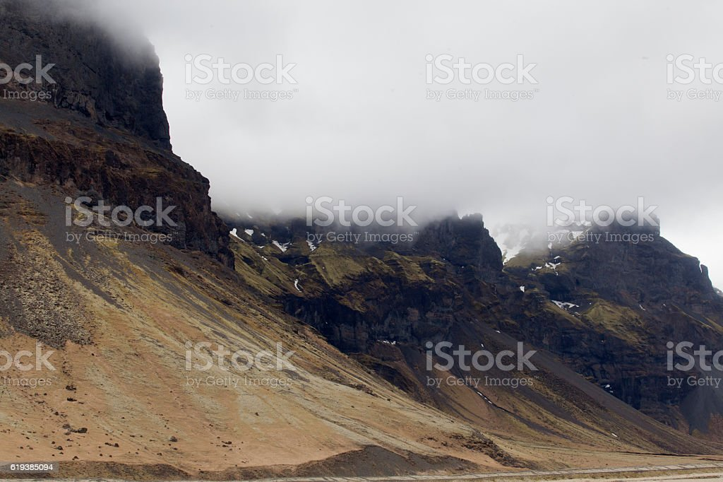 Iceland landscape, stock photo