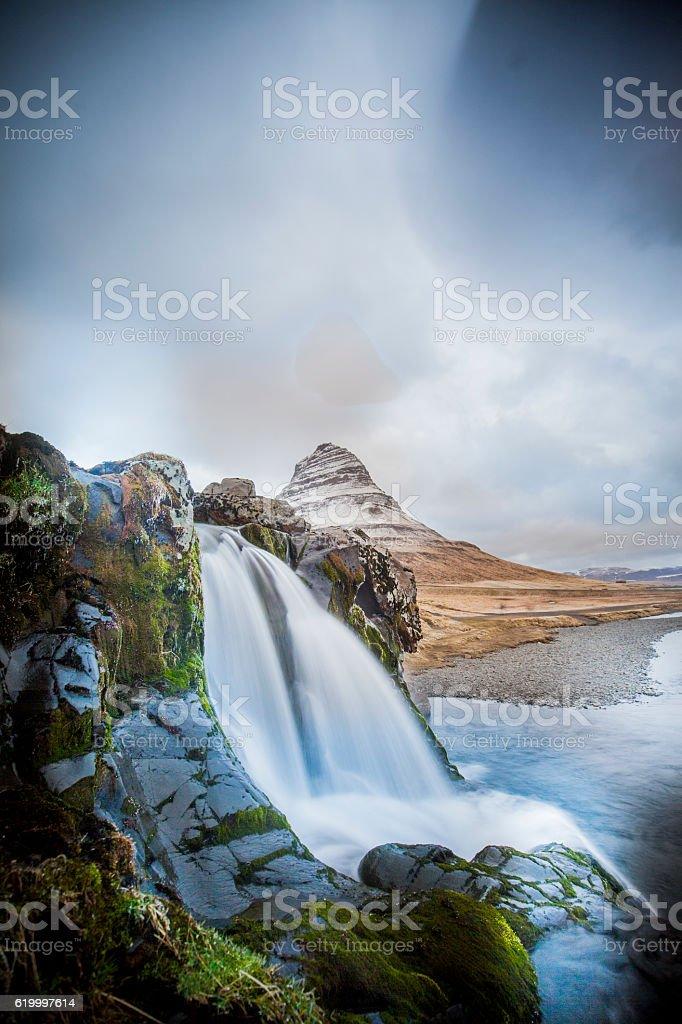 Iceland landscape, stock photo