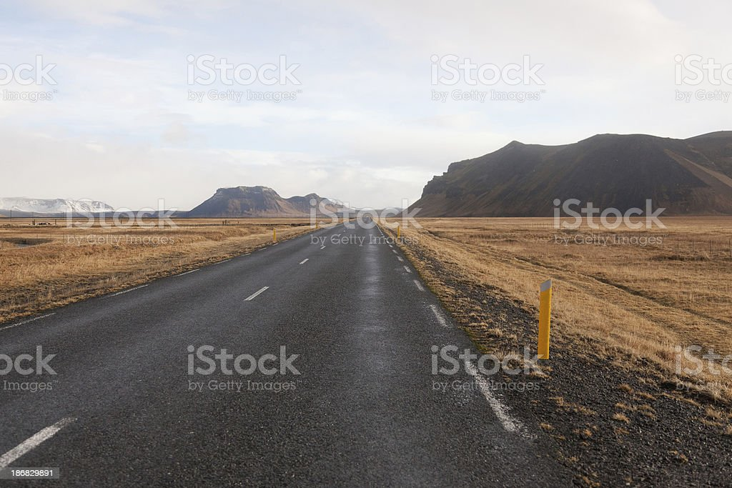 Iceland main ring road royalty-free stock photo