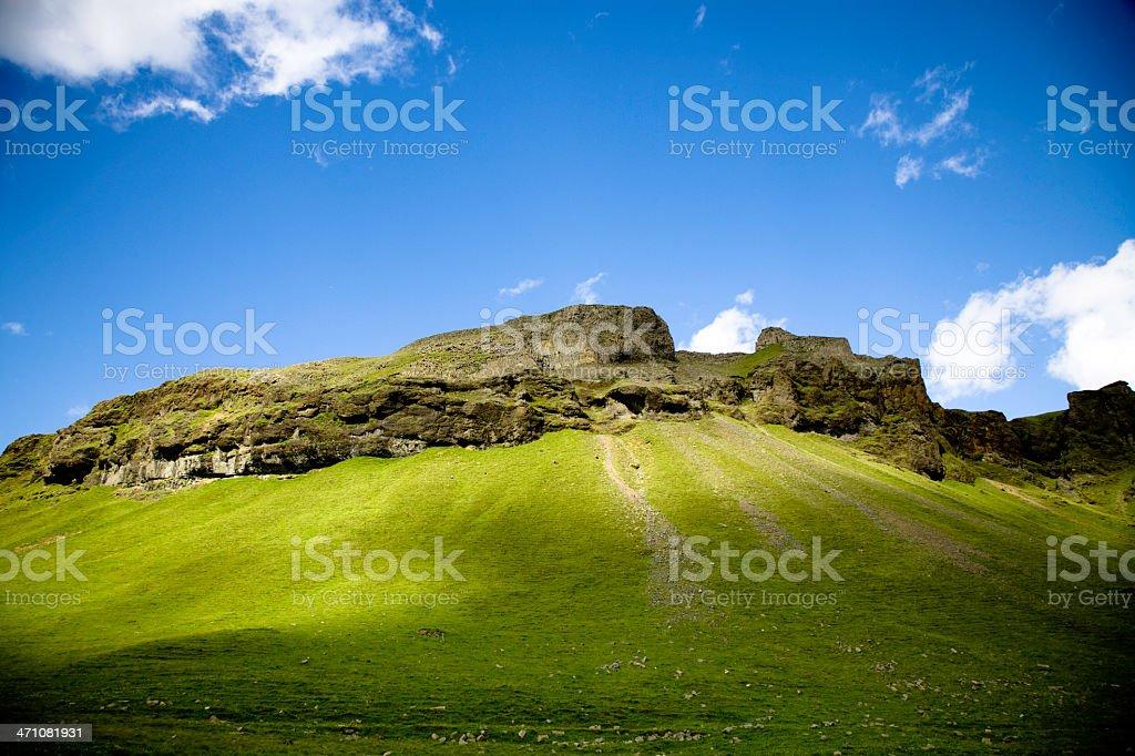 Iceland Mountain Landscape stock photo