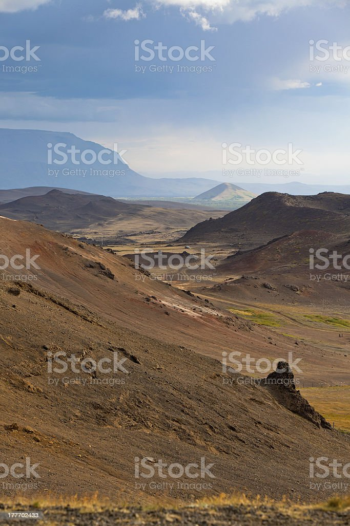 Iceland Mountains landscape royalty-free stock photo