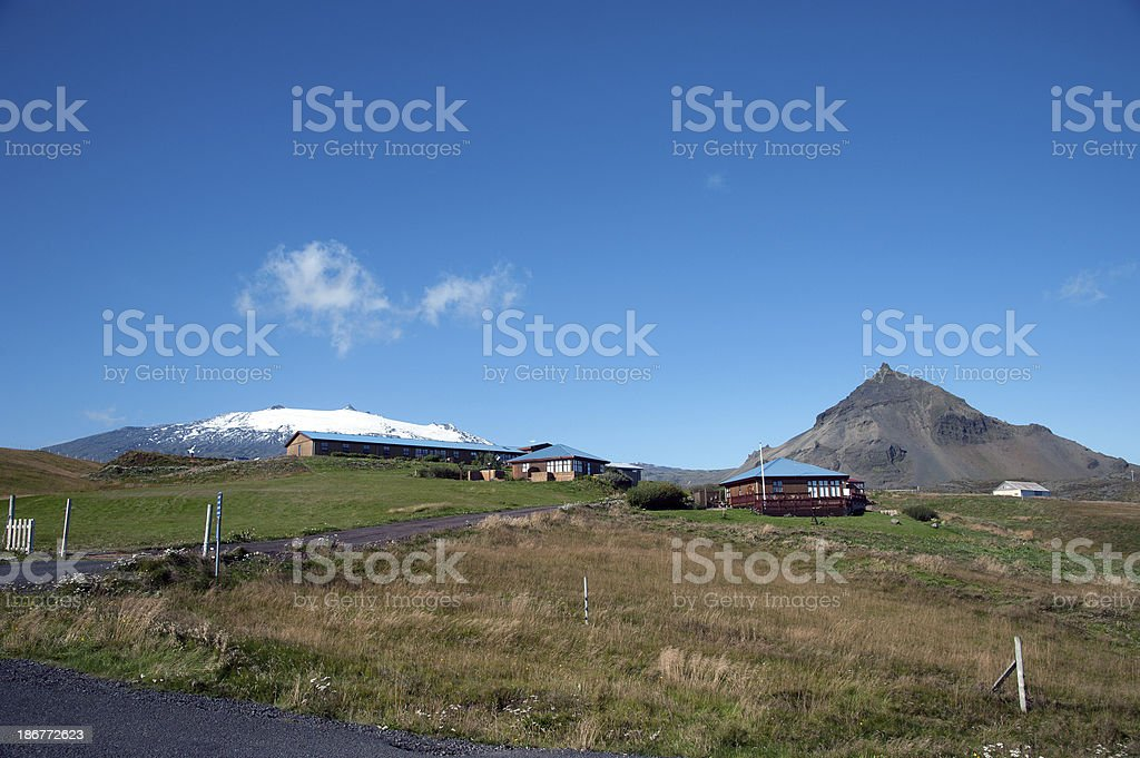 Island - Halbinsel Snæfellsnes royalty-free stock photo