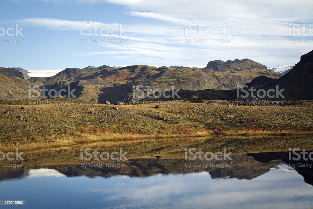 Iceland Reflection royalty-free stock photo