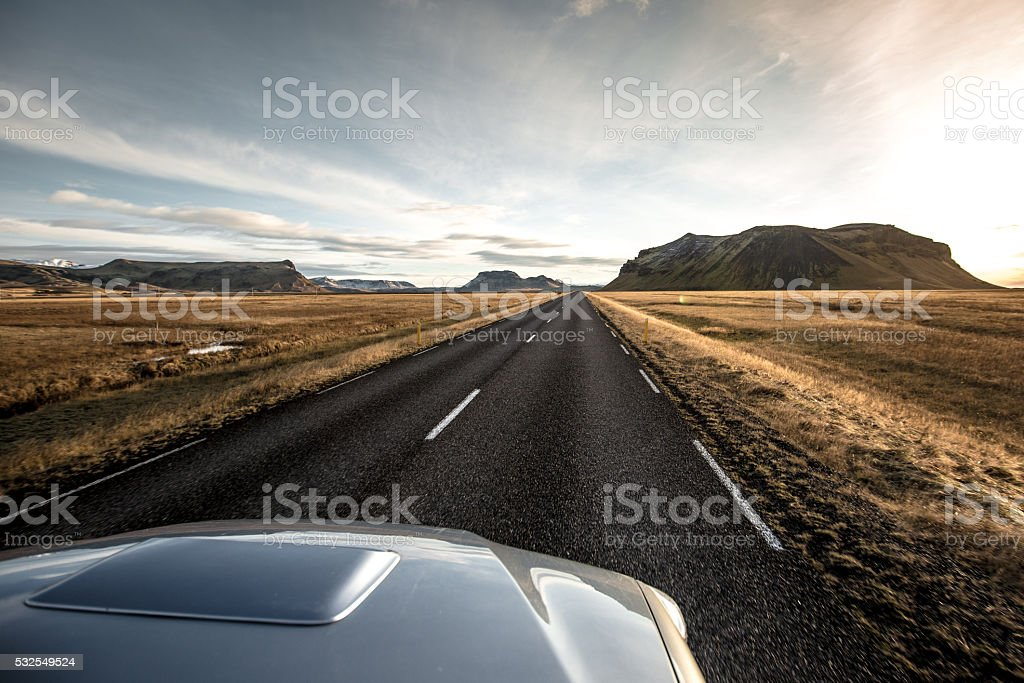 Iceland: Road to Adventure stock photo