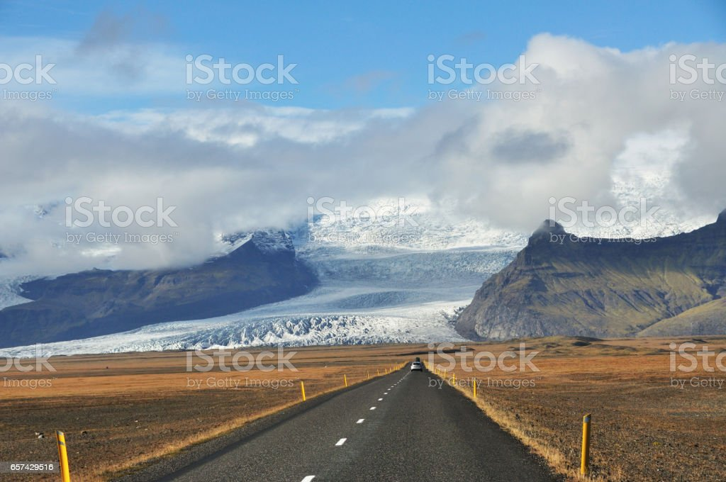 Iceland road trip stock photo