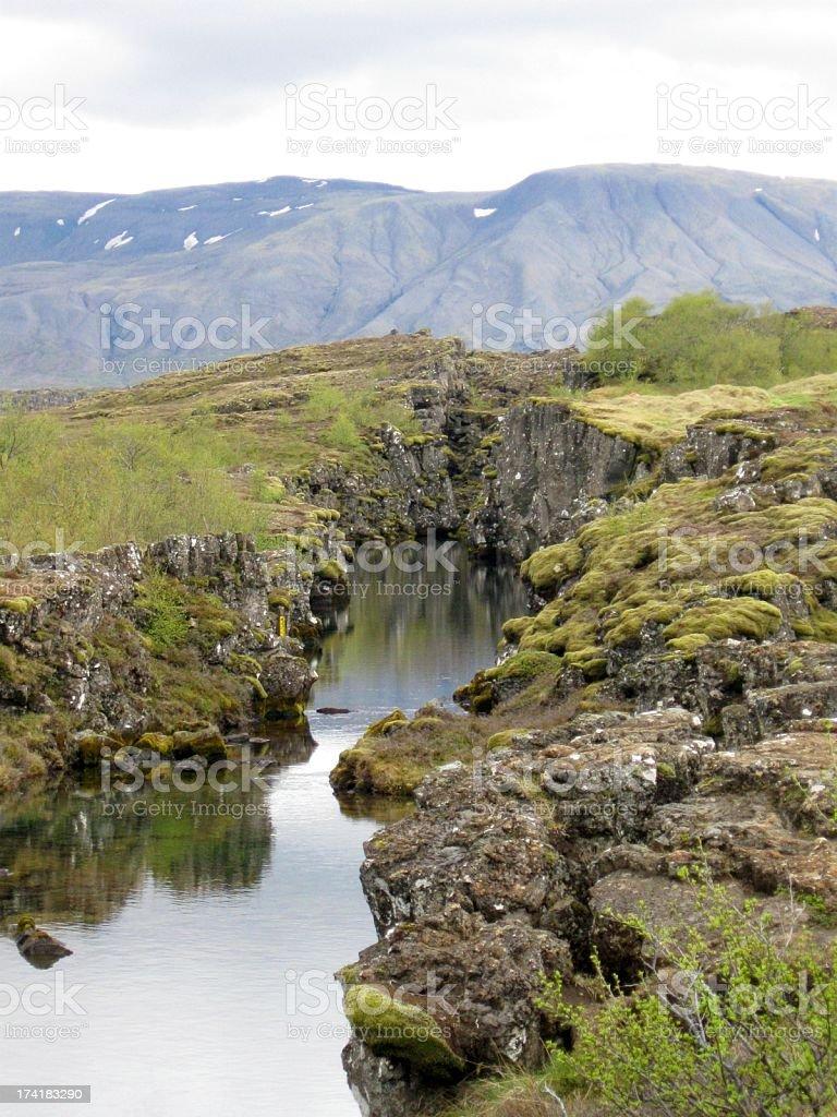 Iceland scenery stock photo
