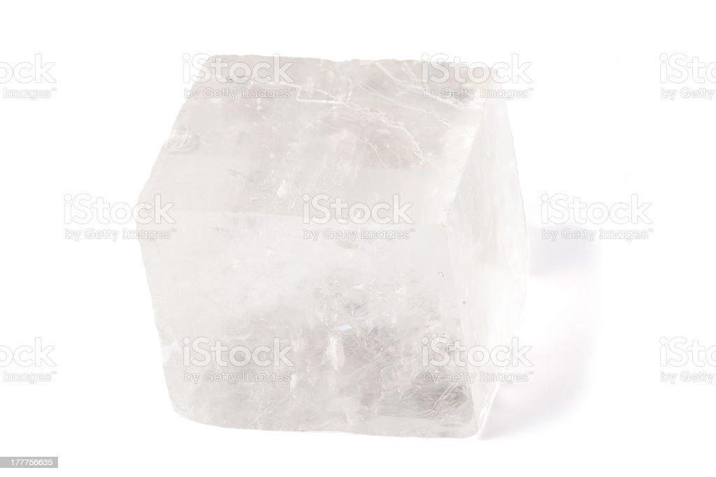 Iceland Spar Mineral stock photo