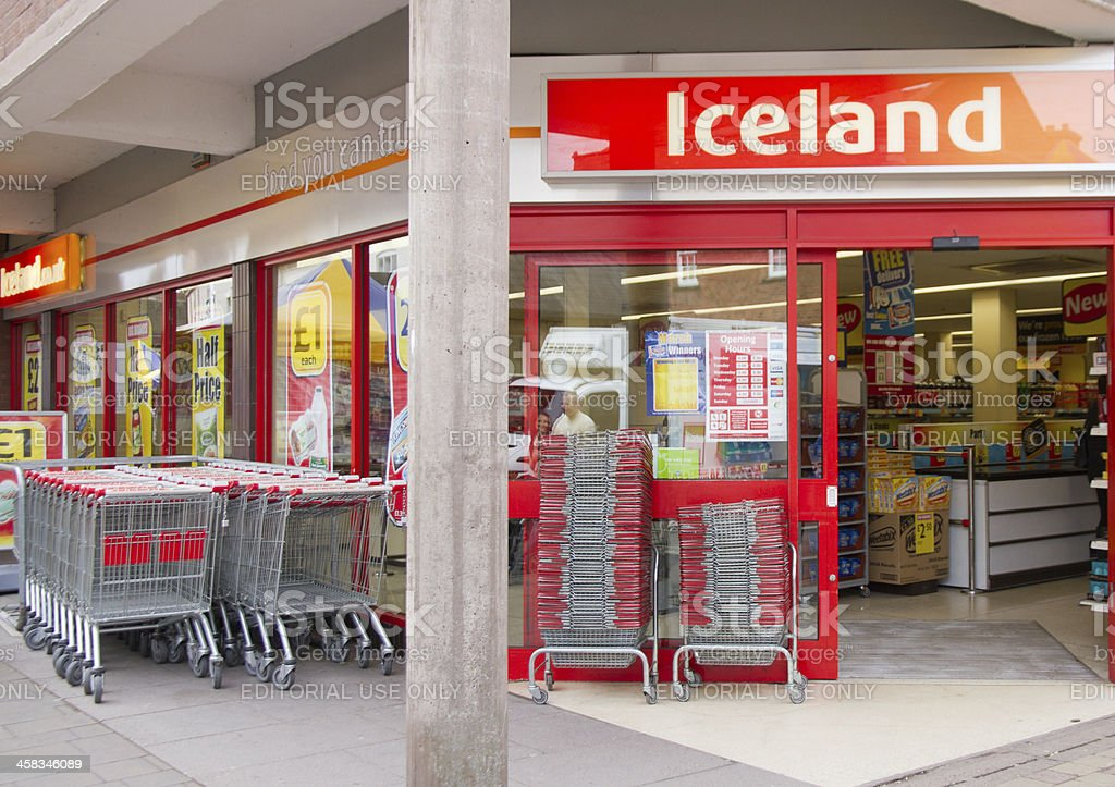 Iceland store royalty-free stock photo