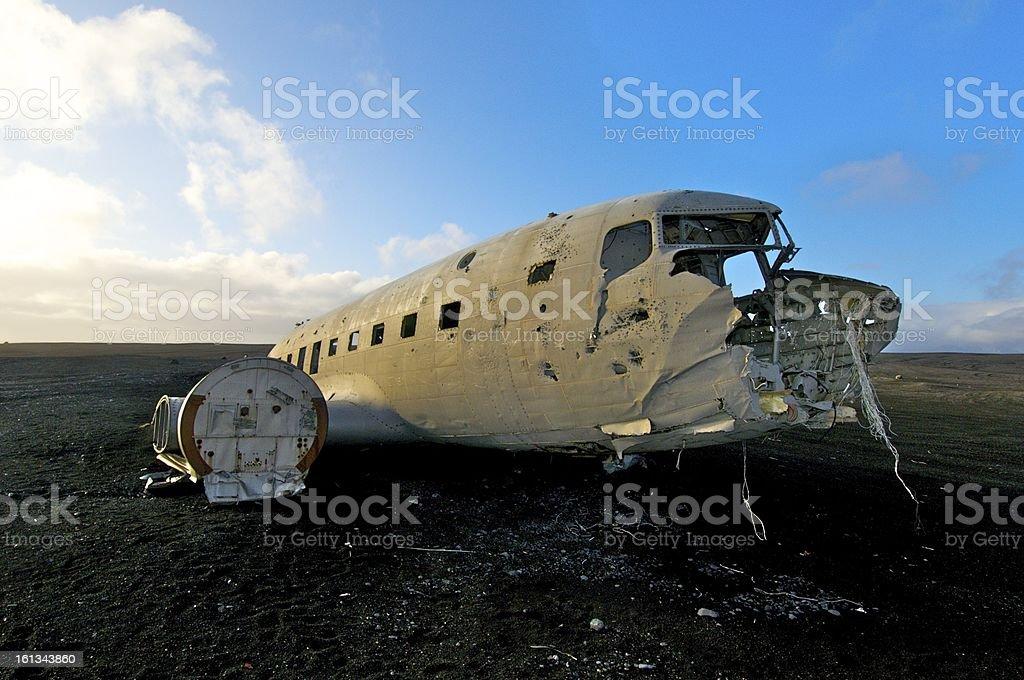 Iceland U.S. mailplane royalty-free stock photo