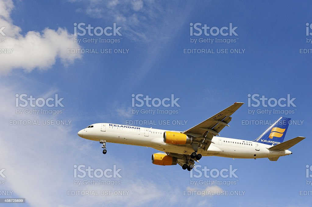 Icelandair Airlines stock photo