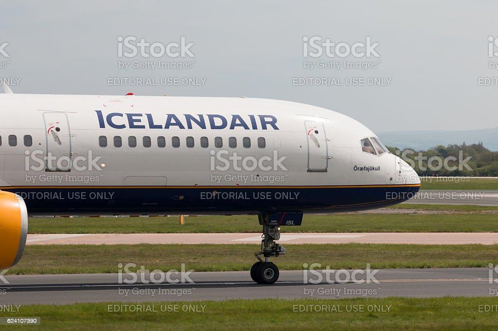 Icelandair Boeing 757 stock photo