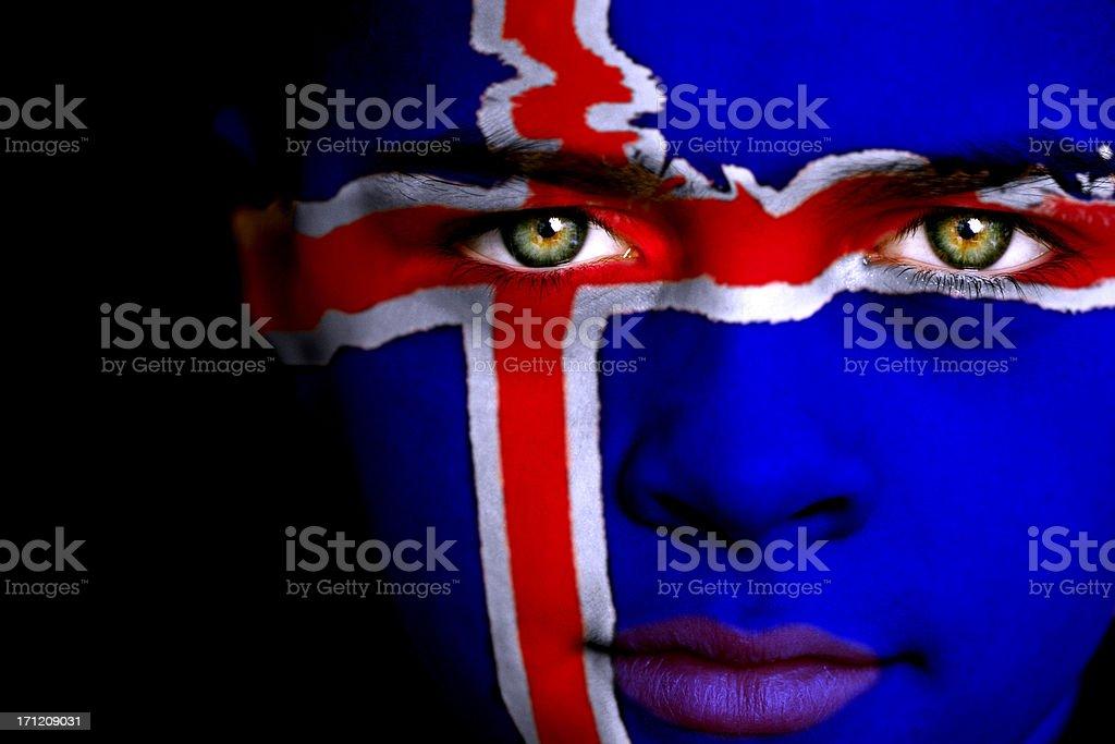 Icelandic boy stock photo