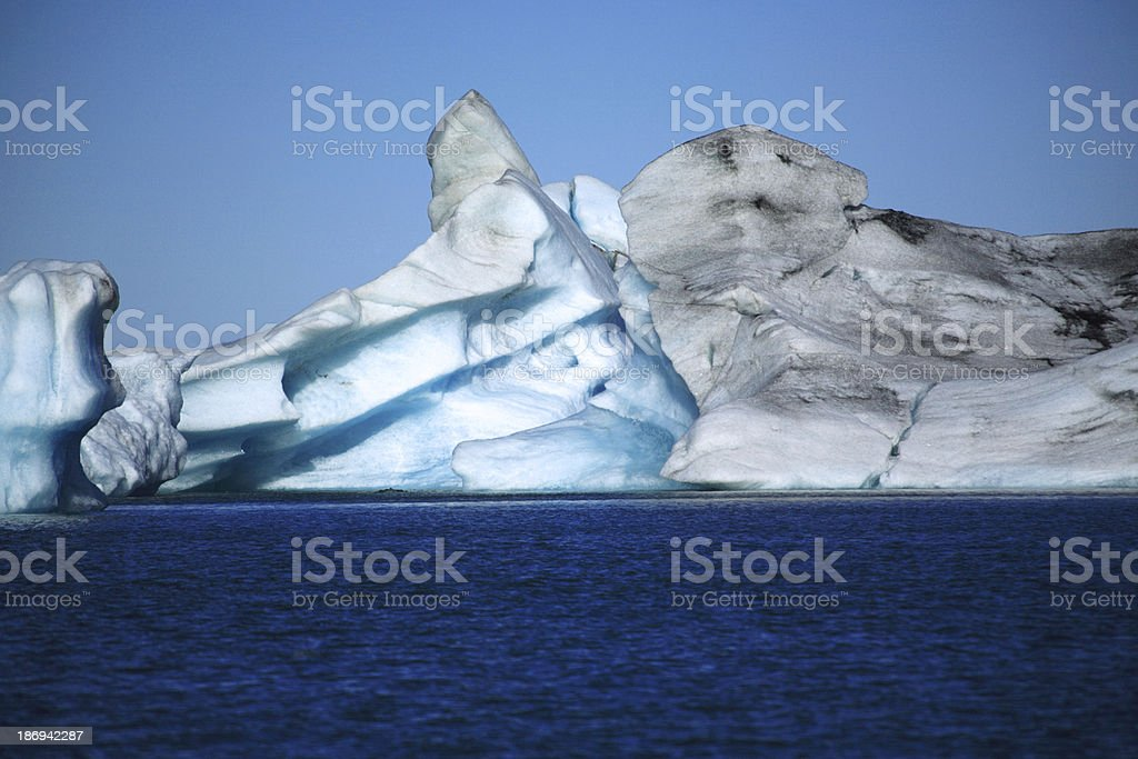 Icelandic icebergs stock photo