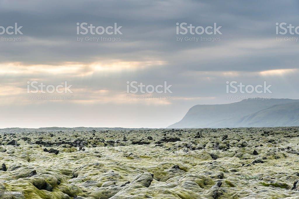 Icelandic landscapes. Iceland. stock photo