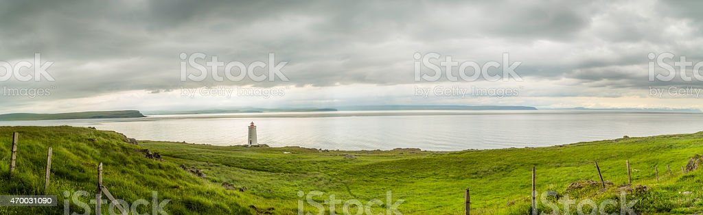 Icelandic Lighthouse stock photo