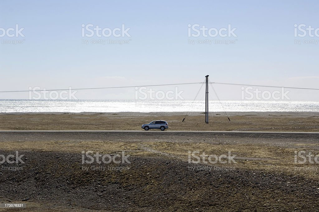Icelandic Ring-road royalty-free stock photo