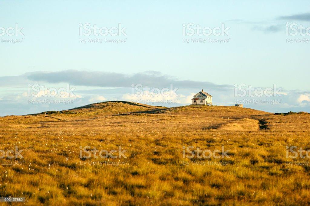 Icelandic scene stock photo