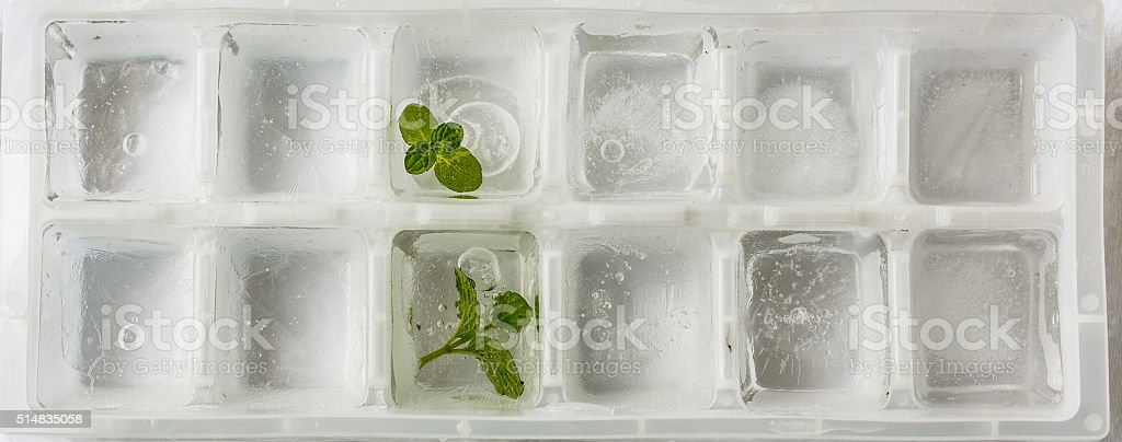 ice-making box stock photo