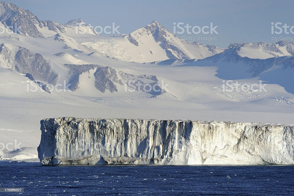 Iceshelf royalty-free stock photo