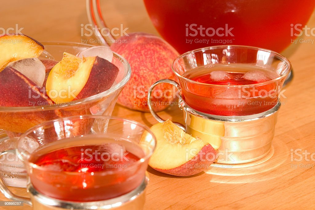 ice-tea stock photo