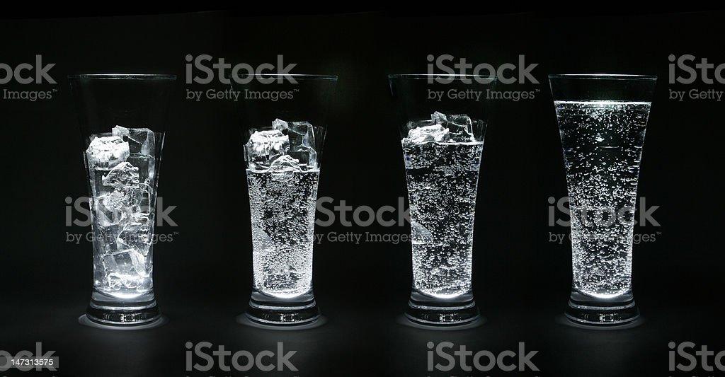 Ice-water stock photo