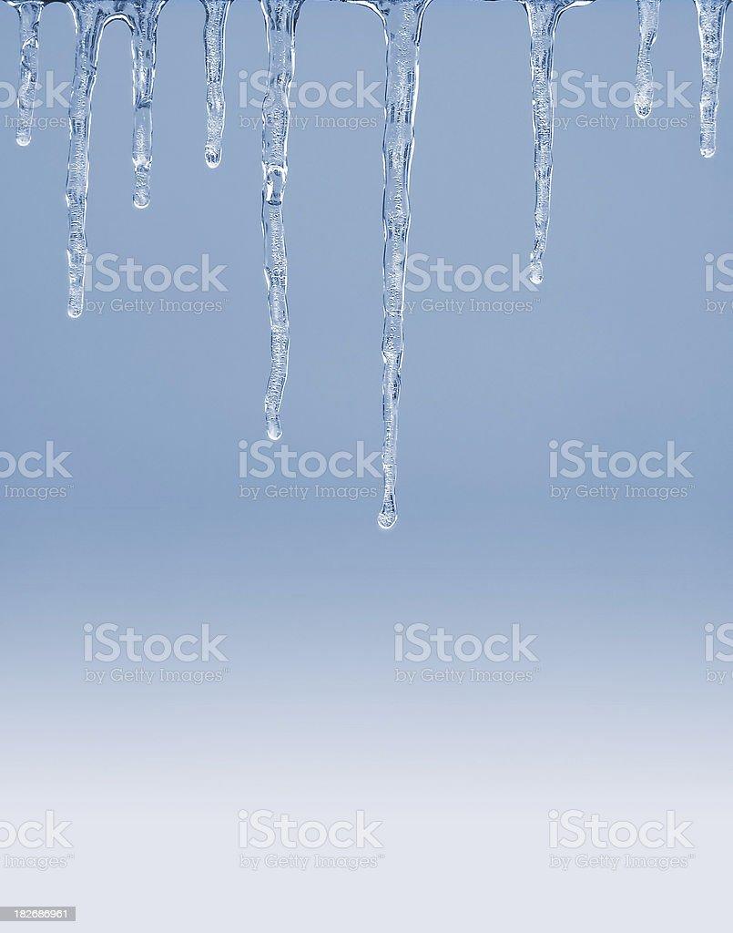 icicle background stock photo