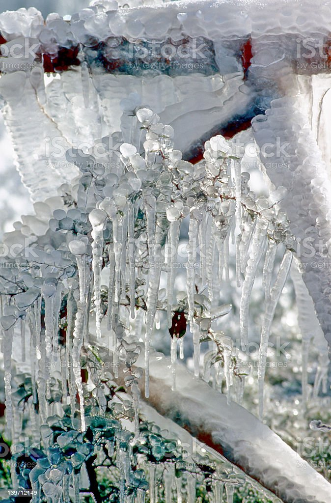 Icicle royalty-free stock photo