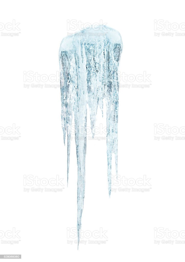 icicles stock photo
