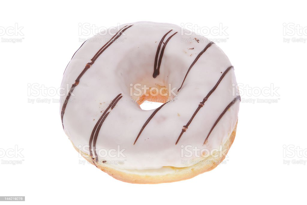 Icing donut royalty-free stock photo