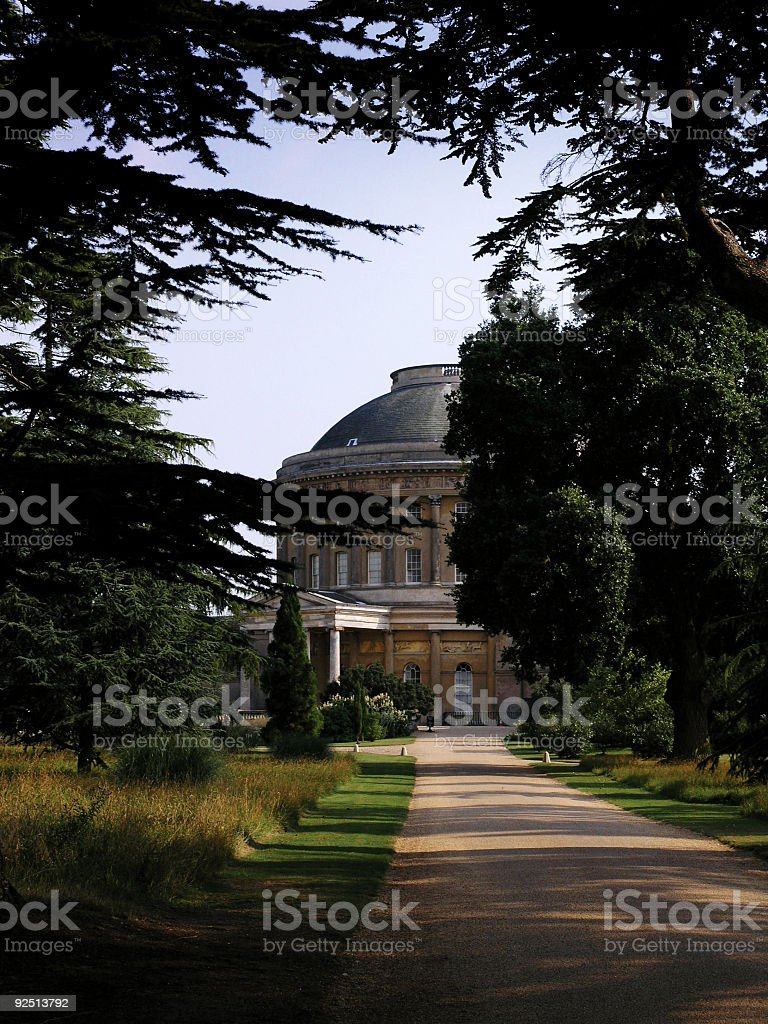 Ickworth House stock photo