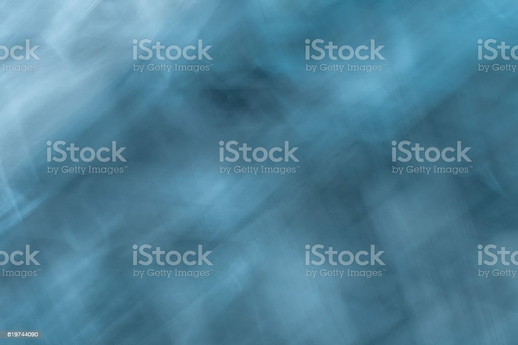 Icm-Blue Smoky haze stock photo
