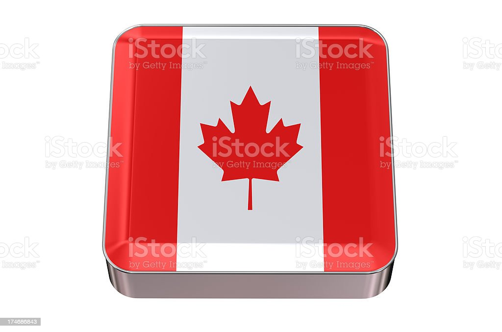 Icon Canada stock photo