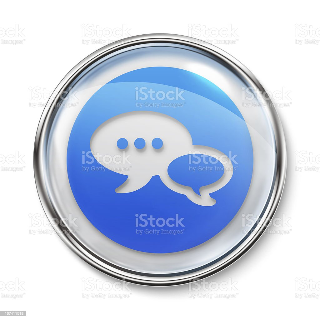 Icon - Chat royalty-free stock photo