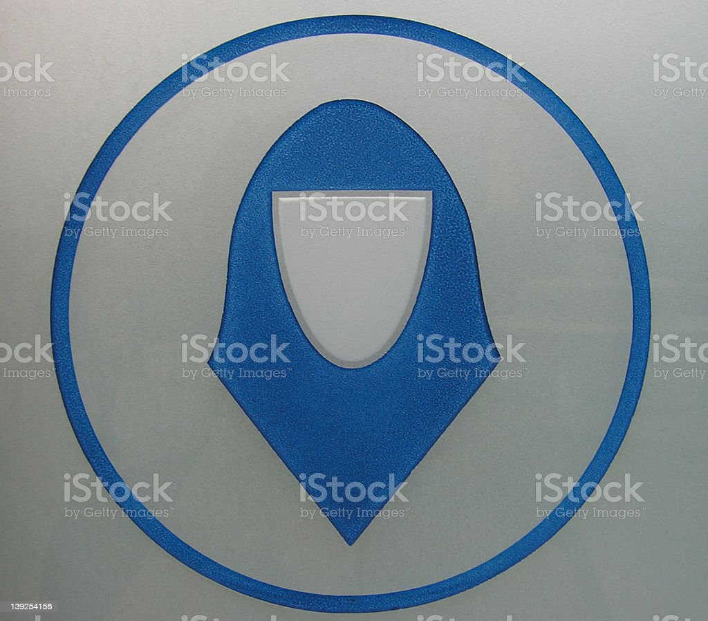 icon: cover head please royalty-free stock photo