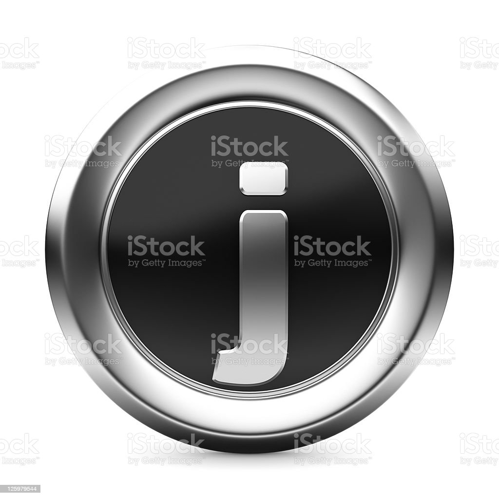 icon letter J royalty-free stock photo