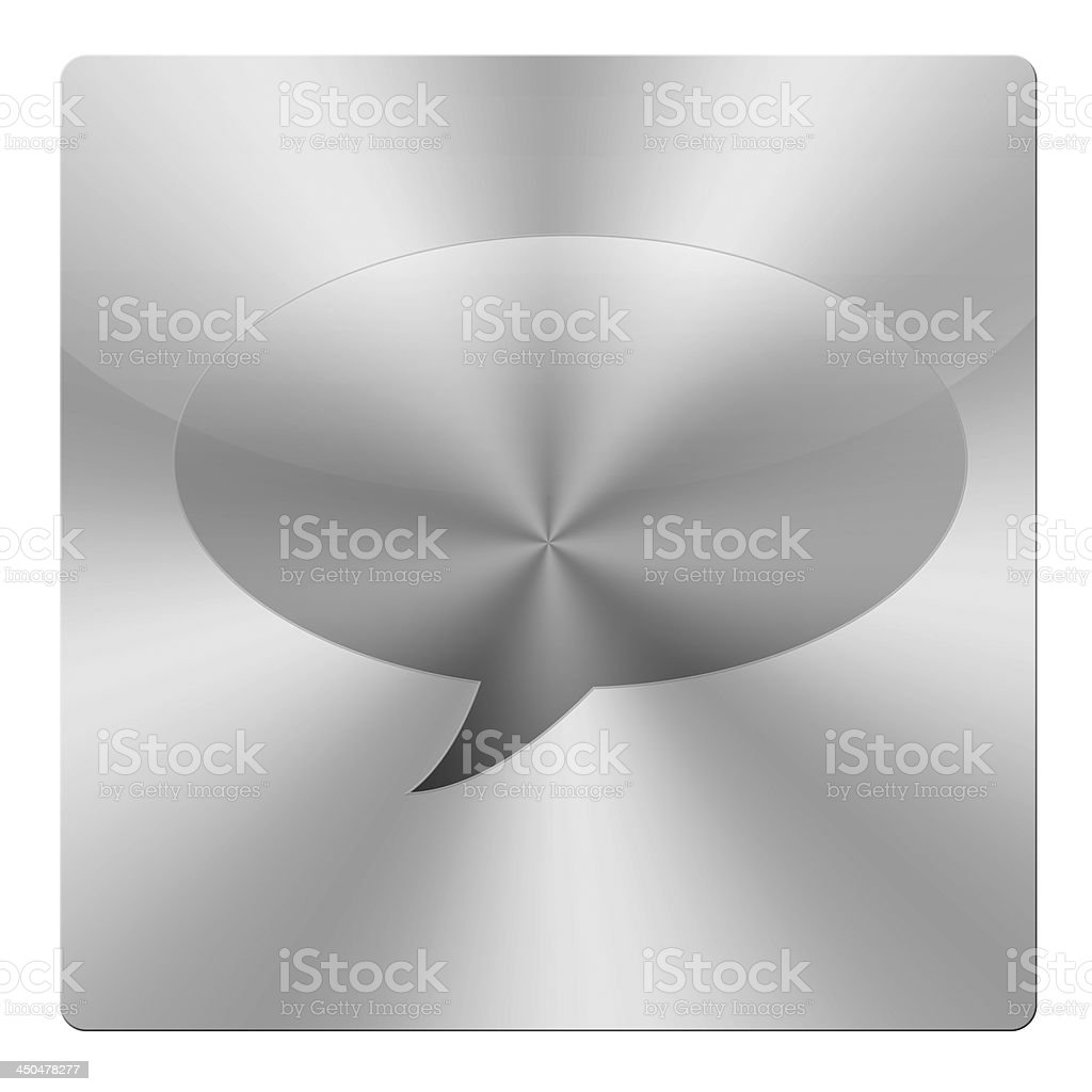 Icon space for words royalty-free stock photo
