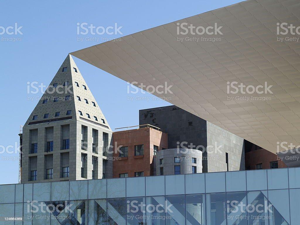 Iconic Buildings stock photo