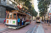Iconic cable cars of San Francisco