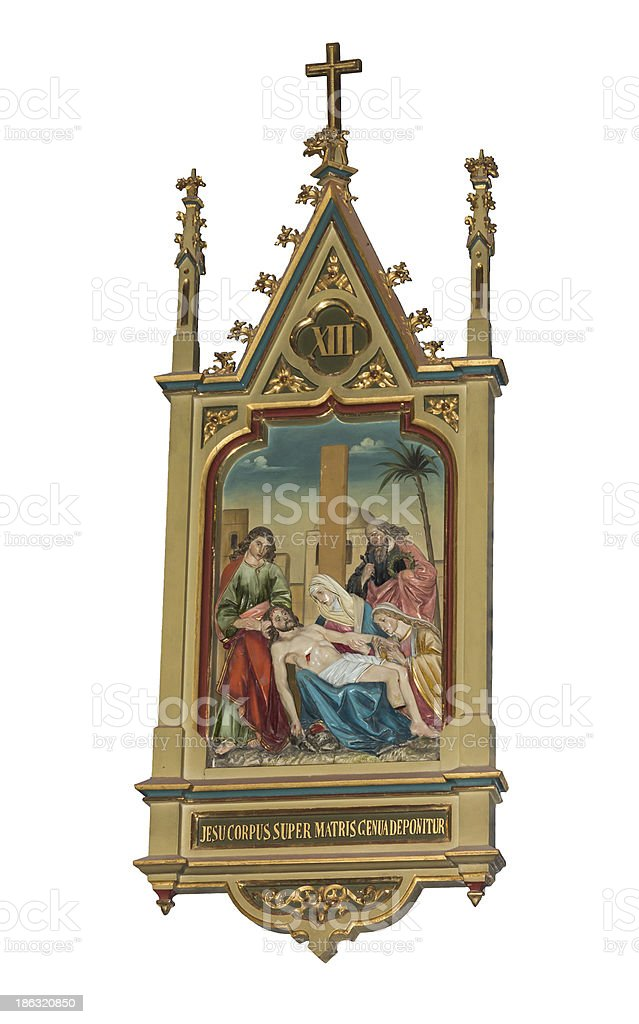 Icons of Christ royalty-free stock photo