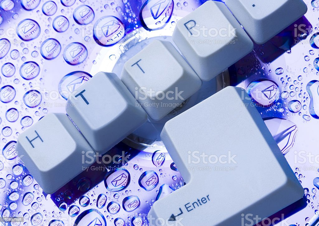 Icons of internet royalty-free stock photo