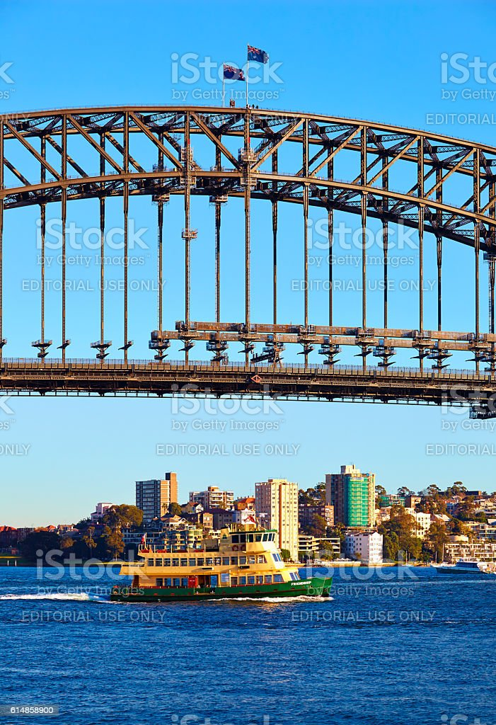Icons Of Sydney Harbour stock photo