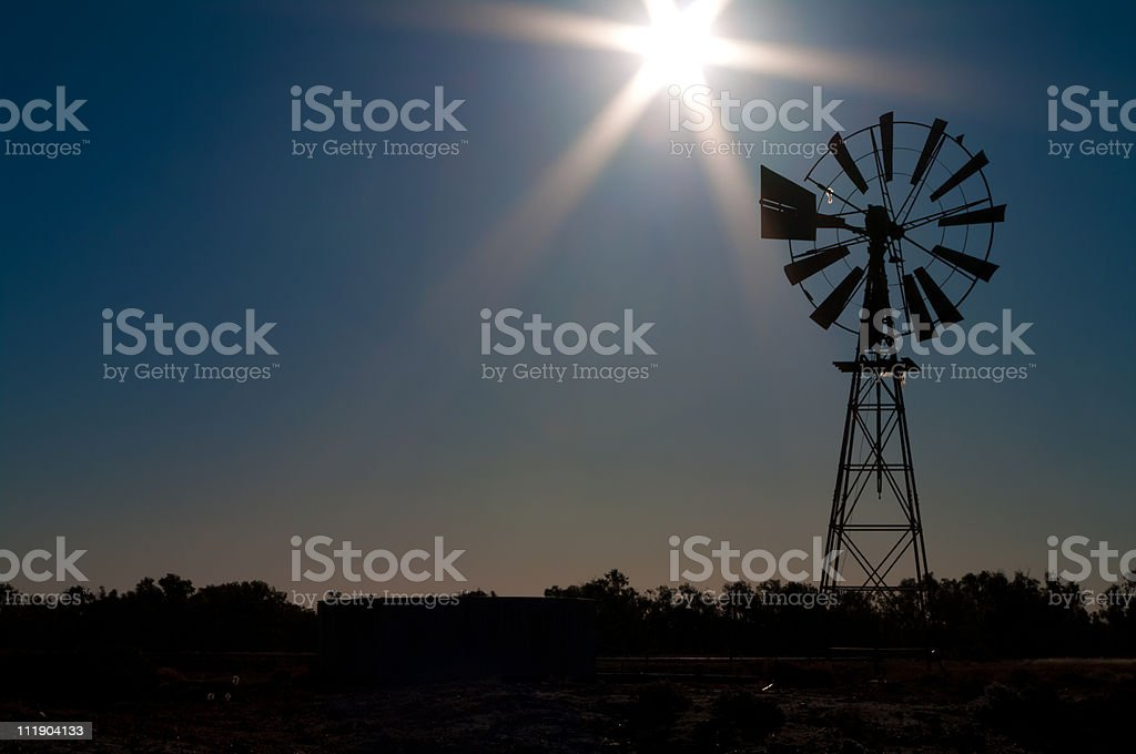 Icons of the outback stock photo