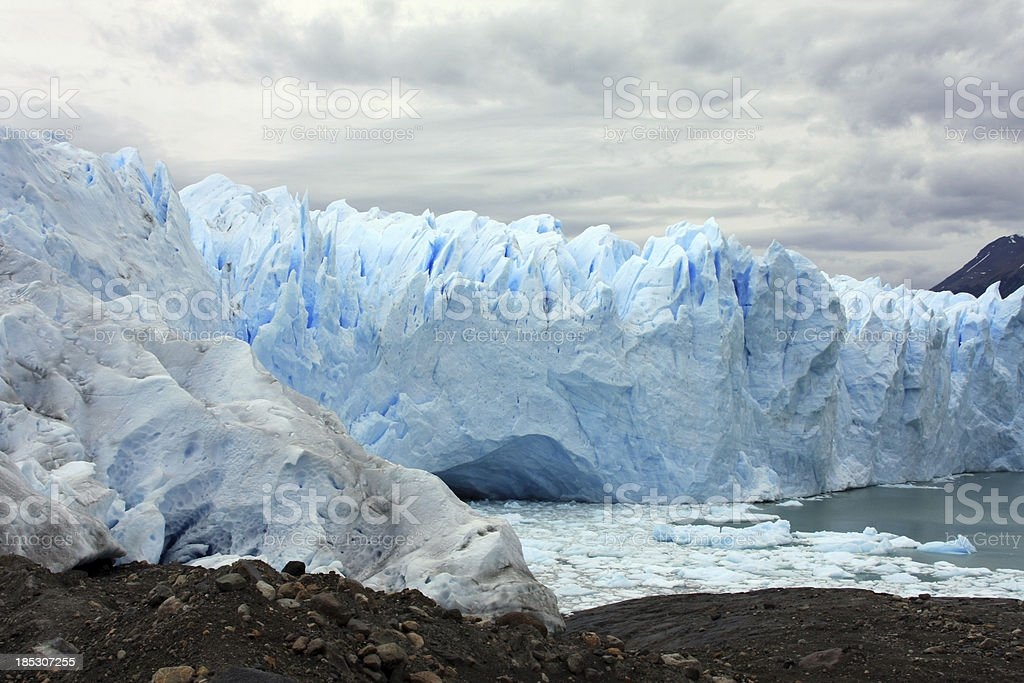 Icy cave royalty-free stock photo