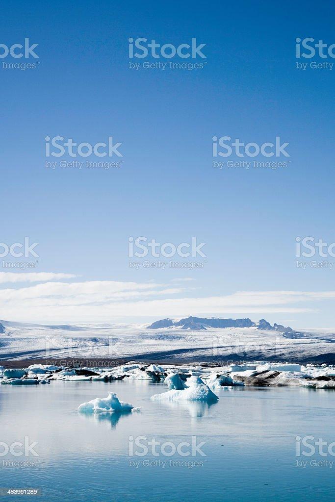 Icy Iceland royalty-free stock photo