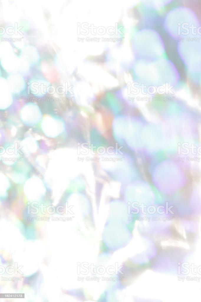 Icy Iridescent Lights stock photo