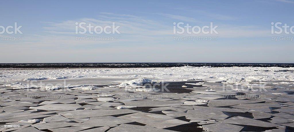 Icy Ocean royalty-free stock photo