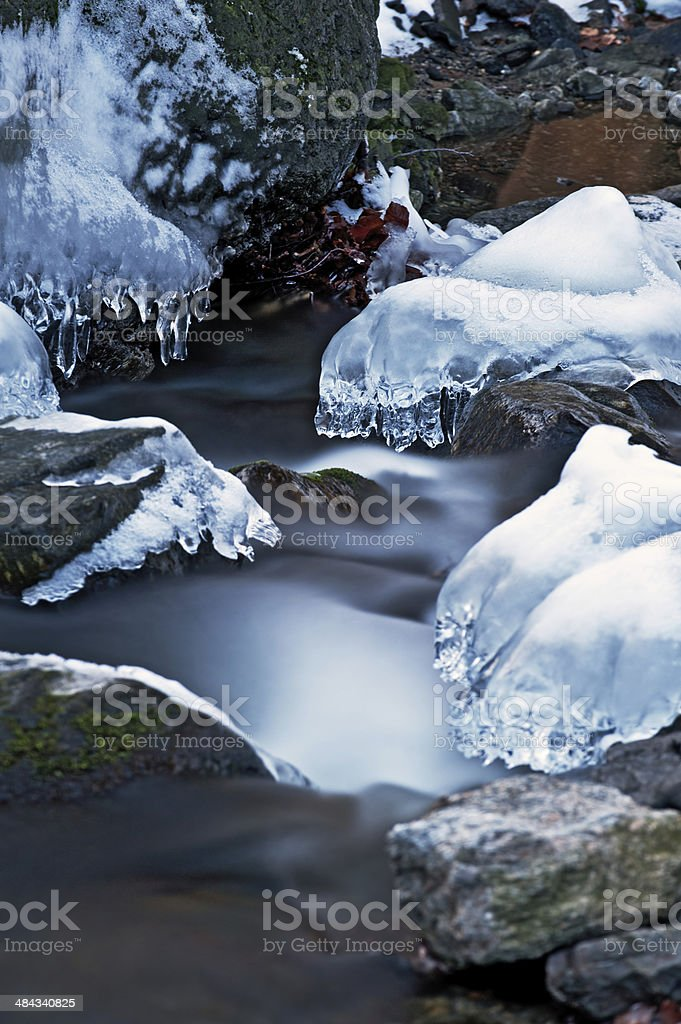Icy royalty-free stock photo