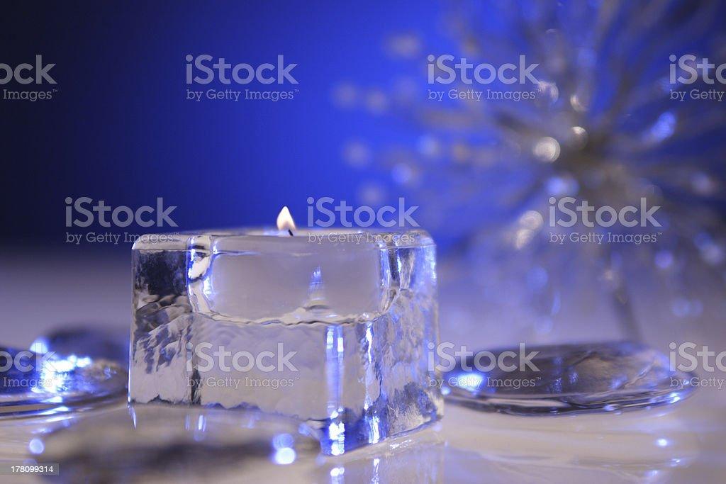 Icy Scene royalty-free stock photo